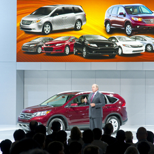 Fourth-Gen CRV Debuts with New Design, Increased Power, Better Economy
