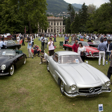 There will be several very rare cars on display just like every year