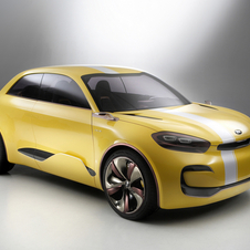 Kia says that the CUB is a four-door coupe