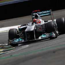 Schumacher Fastest on Second Day of Formula 1 Testing