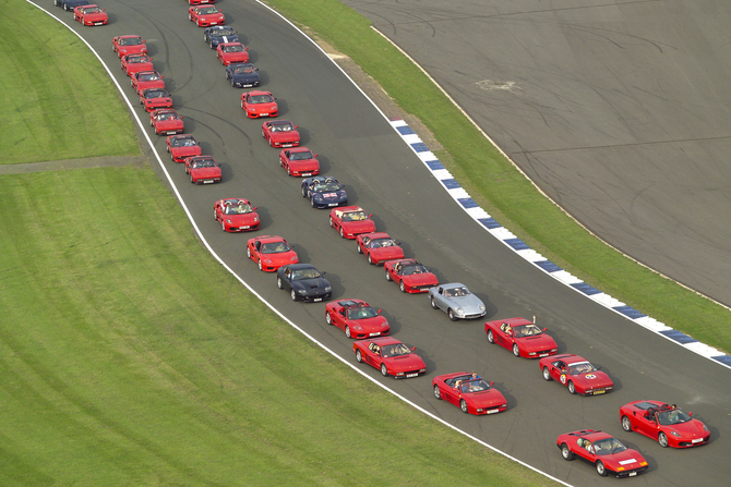 The Ferrari Racing Days has previously held the record but will likely retake it this year