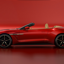It can take the Vanquish Zagato Volante up to 100km/h in 3.7 seconds