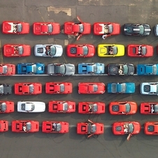The previous record was 490 cars