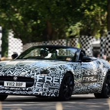 Jaguar has been teasing the F-Type for months but will not reveal the car until September.