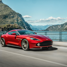 The new limited edition Aston Martin will be powered by the 6.0 liter V12 engine with 600hp