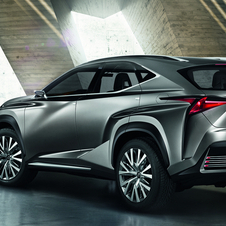 Lexus Goes Angular with Its LF-NX Compact Crossover Concept