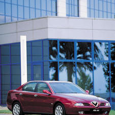 Alfa Romeo 166 3.0 V6 24v Super Distinctive