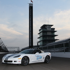 This is the 23rd Chevy pace car in the race's history