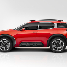 In total the Aircross features a combined output of 313hp that is used in situations of strong acceleration