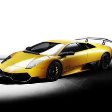 The Murcielago came at the very end of the model run as an ultimate model