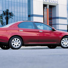 Alfa Romeo 166 2.5 V6 24v Exclusive
