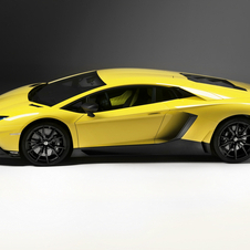 The Aventador 50 Anniversario points towards the future of a lighter, more powerful Aventador
