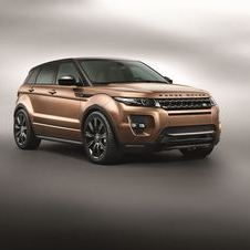 The Evoque gets a new nine-speed automatic for 2014