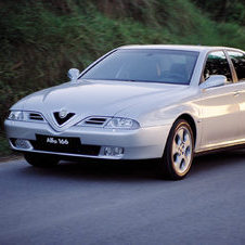 Alfa Romeo 166 3.0 V6 24v Sportronic Distinctive
