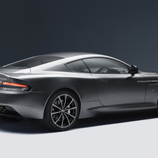 The DB9 GT can reach 100km/h in 4.5 seconds and a top speed of 295km/h