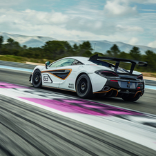Announced simultaneously with the 570S GT4, the two vehicles share some parts