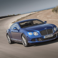 Bentley Continental GT Speed gets its international debut since first being shown at Pebble Beach