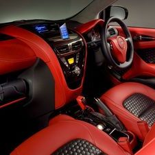Aston Martin handfitted the interior for the Cygnet