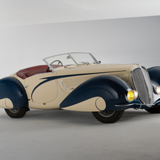 Delahaye 135 Competition Court Torpedo by Figoni et Falaschi