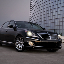 Hyundai's range-topping model is the Equus