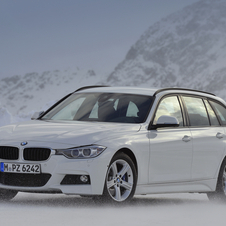 The 318d and 335d is getting the new eight-speed automatic