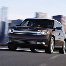 The 2013 Ford Flex Gets Even More Monolithic Front