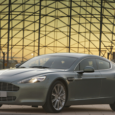 The Rapide has been on sale since 2010