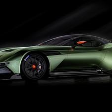 The new Vulcan will be officially unveiled at the Geneva Motor Show