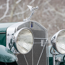 Isotta-Fraschini 8A Convertible Sedan by Floyd-Derham