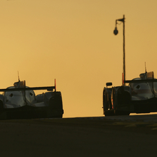 Audi dominated for the entire 24 hours