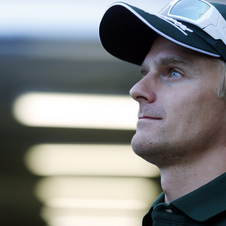 Kovalainen had been the test driver for Caterham this season