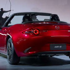 The new MX-5 is smaller and lighter than the car it replaces