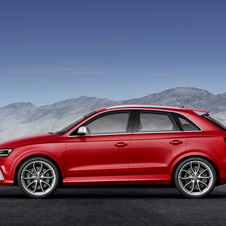 The RS Q3 will be the first RS Q car