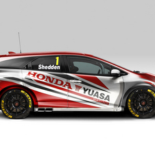 The Civic Tourer is going racing next year in the BTCC