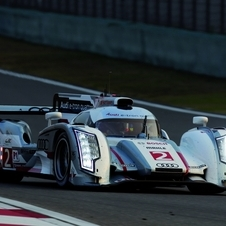 The R18 E-Tron Quattro won the WEC crown this year