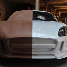 The clay model should give a good idea of what the F-Type will look like