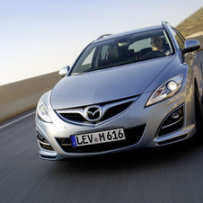 Mazda 6 MZR 2.0 AT Sport Plus + Navi