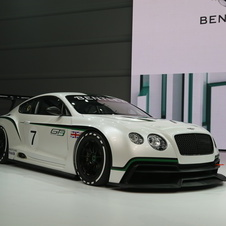 Bentley announced its return to racing in late 2013 with the new Continental GT3. The concept is on display in Paris.