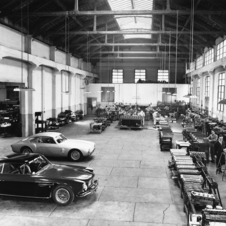 The company built a series of successful racing cars in the late 30s