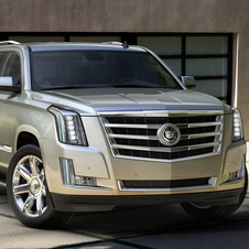 The latest Escalade gets the cascading LED headlights from the ATS and CTS
