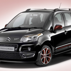 Citroën C3 Picasso 1.6 HDi Blackcherry Edition