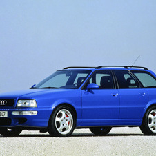 The Audi RS2 was also placed highly