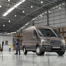 The new Transit will eventually be on sale in six continents