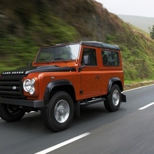 Land Rover 90 Defender Hard Top S