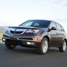 Acura MDX w/ Advance Package and Entertainment Package