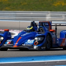 The car is an upgraded version of the Oreca 03-Nissan from last season