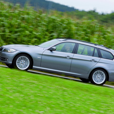 BMW 320d Touring EfficientDynamics LifeStyle (E91) LCI