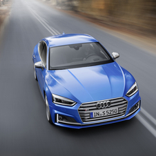 The new S5 Sportback will be powered by a 3.0 TFSI V6 turbo engine with 354hp