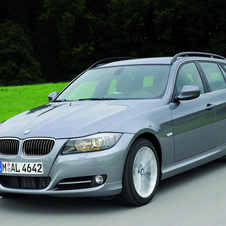 BMW 320d Touring EfficientDynamics Navigation (E91) LCI