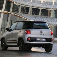 The Fiat 500L Beats EditionTM is characterised by the refined two-tone grey/black livery...